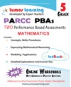 PARCC Performance Based Assessment PBA Practice - Grade 5 Mathematics