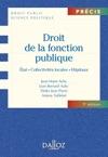 Droit De La Fonction Publique Tat  Collectivits Locales  Hpitaux