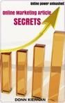 Online Marketing Article Secrets