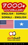 7000 English - Somali Somali - English Vocabulary