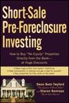 Short-Sale Pre-Foreclosure Investing