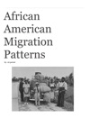 African American Migration Patterns