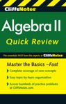 CliffsNotes Algebra II Quick Review 2nd Edition