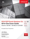 OCAOCP Oracle Database 12c All-in-One Exam Guide Exams 1Z0-061 1Z0-062  1Z0-063