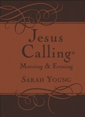 Jesus Calling Morning and Evening Devotional - Sarah Young Cover Art