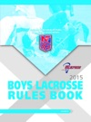 2015 NFHS Boys Lacrosse Rules Book