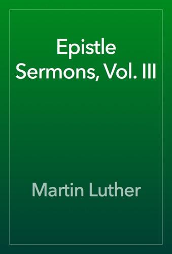Epistle Sermons Vol III