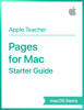 Apple Education - Pages for Mac Starter Guide macOS Sierra artwork
