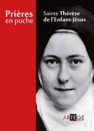 PRIèRES EN POCHE - SAINTE THéRèSE DE LENFANT JéSUS