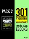 Pack 2 Fantsticos Ebooks N29 Metavida  301 Chistes Cortos Y Muy Buenos