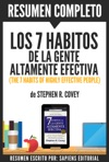 Los 7 Habitos De La Gente Altamente Efectiva The 7 Habits Of Highly Effective People Resumen Del Libro De Stephen Covey