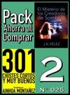 Pack Ahorra Al Comprar 2 N 025 El Misterio De Los Creadores De Sombras  301 Chistes Cortos Y Muy Buenos