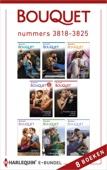 Maya Blake, Kate Hewitt, Jennifer Hayward & Caitlin Crews - Bouquet e-bundel nummers 3818 - 3825 (8-in-1) kunstwerk