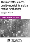 The Market For Lemons  Quality Uncertainty And The Market Mechanism De George A Akerlof