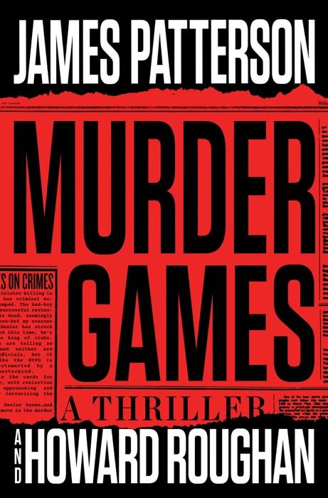 Murder Games James Patterson  Howard Roughan Book