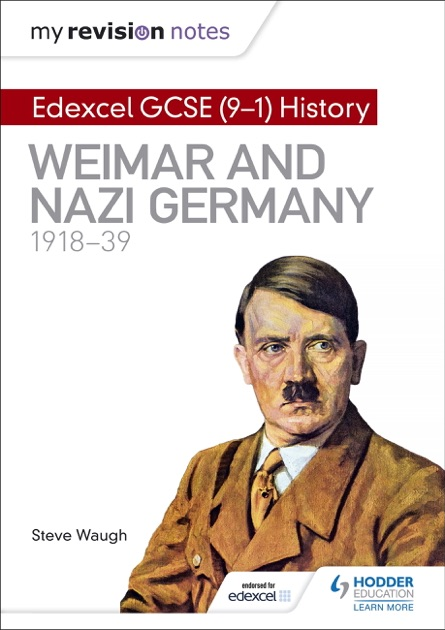My Revision Notes Edexcel Gcse 9 1 History Weimar And