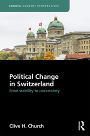 POLITICAL CHANGE IN SWITZERLAND