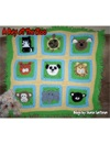 A Day At The Zoo Baby Afghan Crochet Pattern