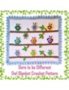 Dare To Be Different Baby Afghan Crochet Pattern