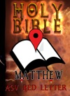 Holy Bible ASV Red Letter Edition Matthew