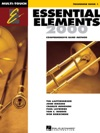 Essential Elements 2000 - Book 1 For Trombone Textbook