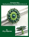 The Chameleon Ring Beading  Jewelry Making Tutorial Series I8