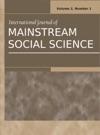 International Journal Of Mainstream Social Science