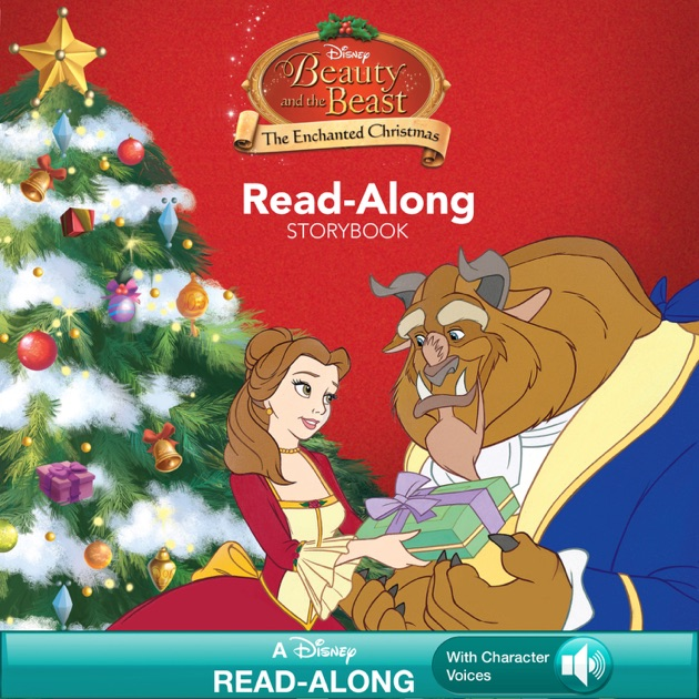 Beauty and the Beast: The Enchanted Christmas Read-Along Storybook ...
