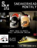 Sneakerhead Monthly Magazine
