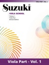 Suzuki Viola School - Volume 1
