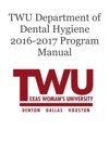 2016 - 2017 Program Manual