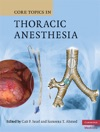 Core Topics In Thoracic Anesthesia