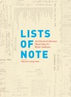Lists Of Note