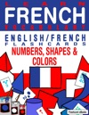 Learn French Vocabulary EnglishFrench Flashcards - Numbers Shapes And Colors