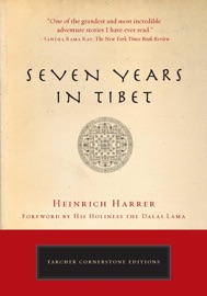 Seven Years in Tibet - Heinrich Harrer Book