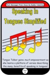 Speaking In Tongues Simplified Text Messages From Jesus Book 35