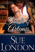 Sue London - Trials of Artemis (Haberdashers Book One)  artwork