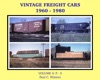 Vintage Freight Cars 1960-1980