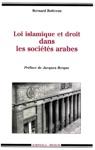 Loi Islamique Et Droit Dans Les Socits Arabes