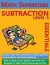 Math Superstars Subtraction Level 3
