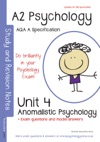 AQA A A2 Psychology Unit 4 Anomalistic Psychology With Model Answers