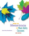 How To Differentiate Instruction In Mixed-Ability Classrooms 2nd Edition