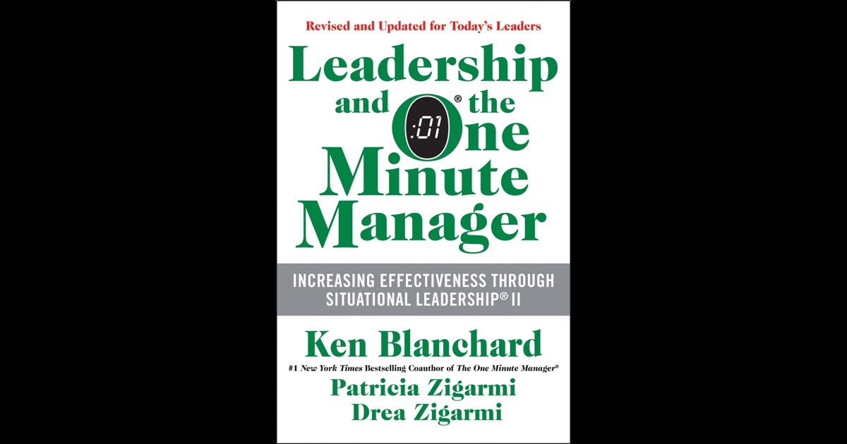 Leadership paper one minute manager