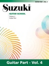 Suzuki Guitar School - Volume 4