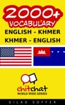2000 English - Khmer Khmer - English Vocabulary