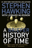 A Briefer History of Time - Stephen Hawking & Leonard Mlodinow Cover Art