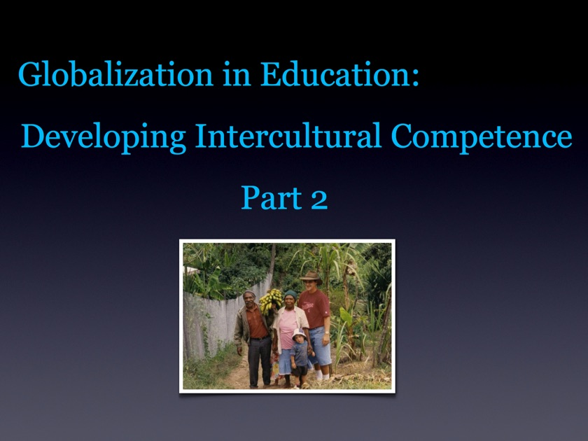 Logo for Globalization in Education: Developing Intercultural Competence Part 2 App for iPad