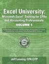 Excel University Volume 1