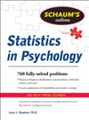 Schaums Outline Of Statistics In Psychology