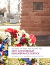Victims Of Pan Am Flight 103 - 25th Remembrance Service